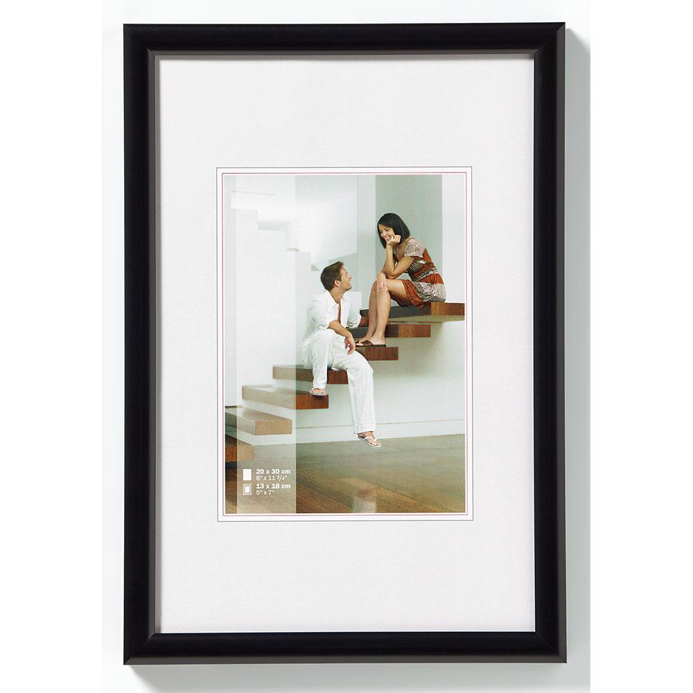 Plastram Talk 20x30 cm | svart | standardt glas
