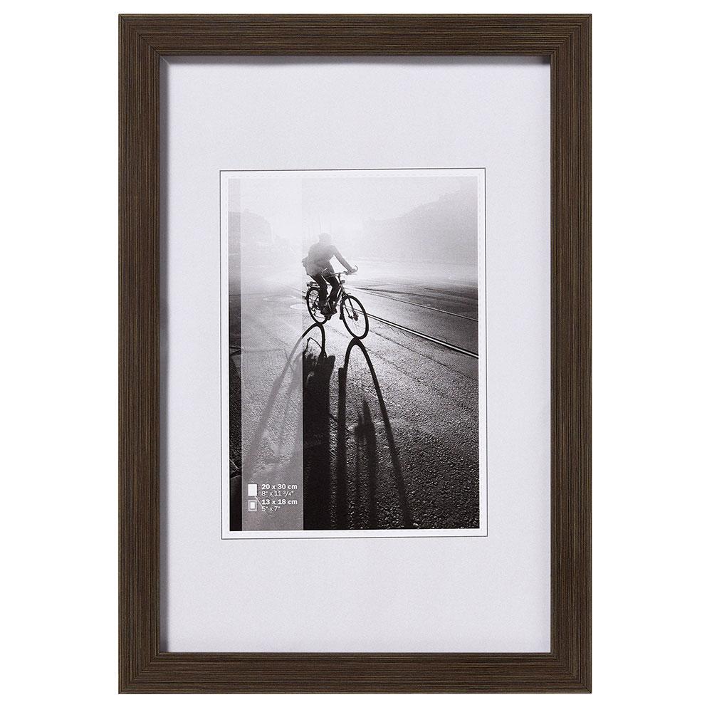 Plastram Varjo 18x24 cm | mörkbrun | standardt glas