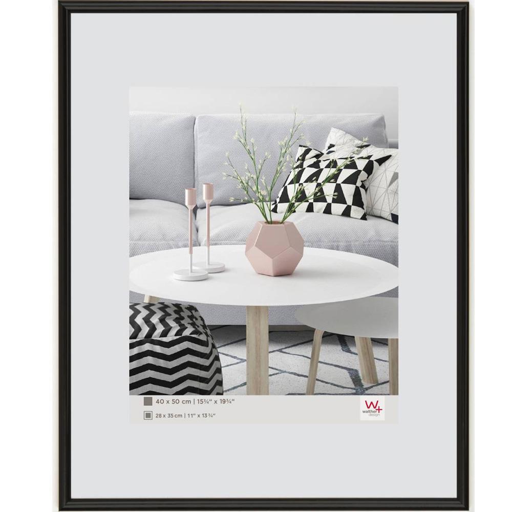 Plastram Galeria 21x29,7 cm (A4) | svart | standardt glas