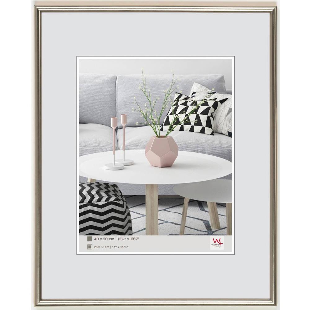 Plastram Galeria 40x50 cm | stål | standardt glas