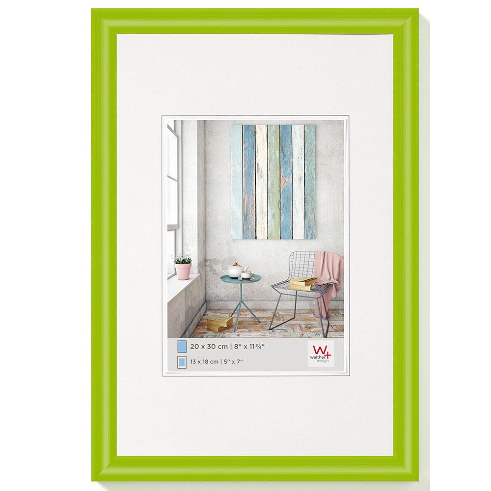 Plastram Trendstyle 10x15 cm | grön | standardt glas