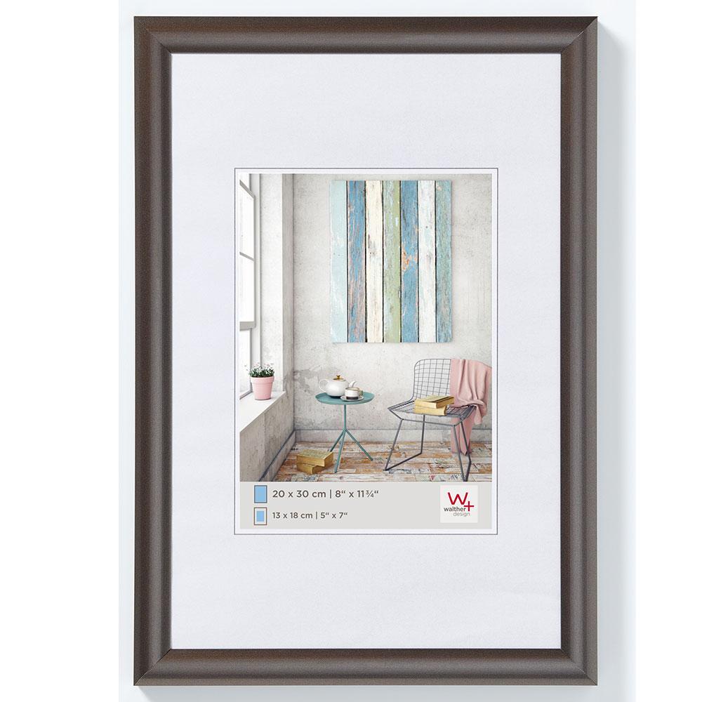 Plastram Trendstyle 18x24 cm | stål | standardt glas