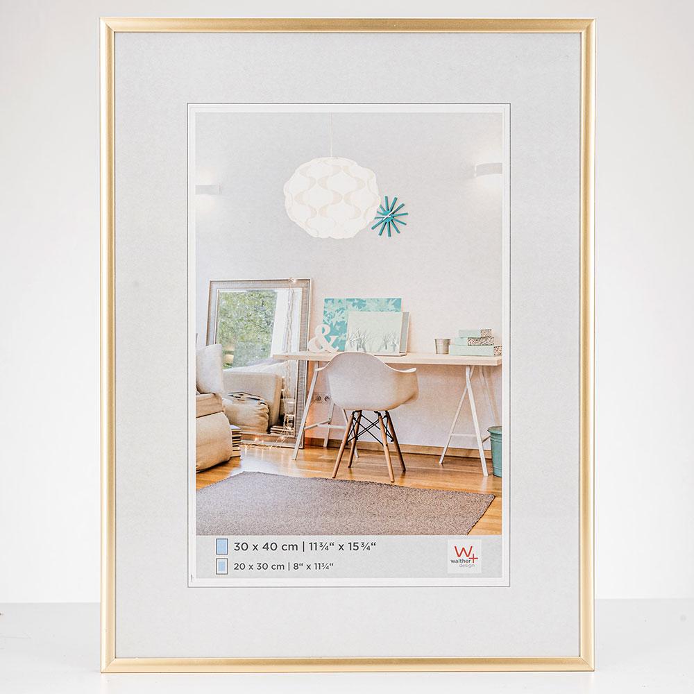 New Lifestyle plastram 13x18 cm | guld | standardt glas