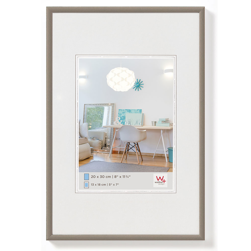 New Lifestyle plastram 18x24 cm | stål | standardt glas