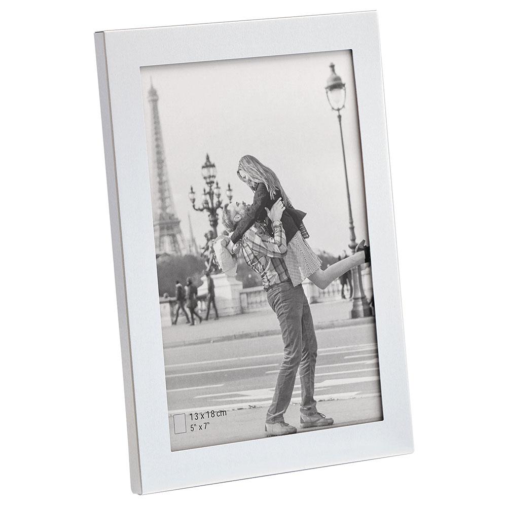 Porträttram Larissa 10x15 cm | silver