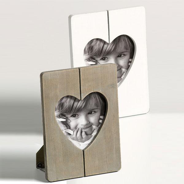 Fotoram Cuore med hjärtformat snitt