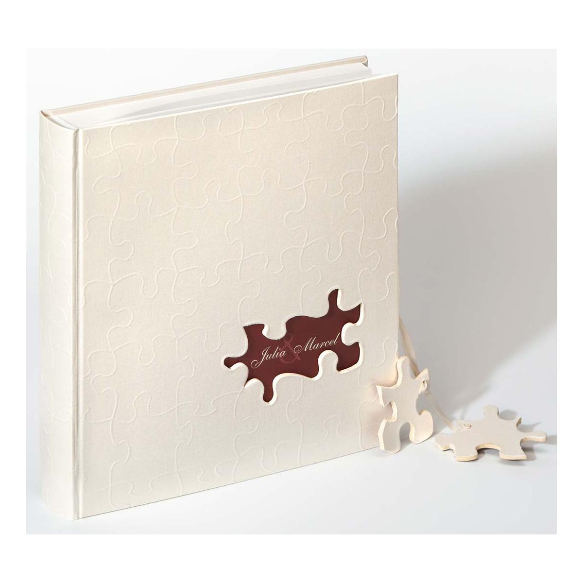 "Bröllopsalbum ""Puzzle"" personlig"